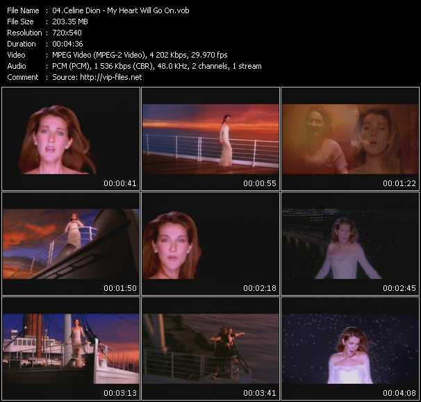 Free Piano Sheet Music For My Heart Will Go On By Celine Dion: Celine Dion My Heart Will Go On