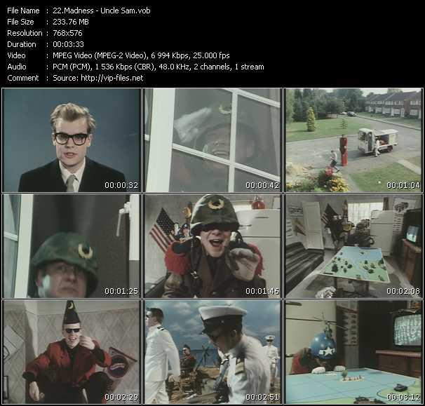 Madness - Uncle Sam [promo].VOB