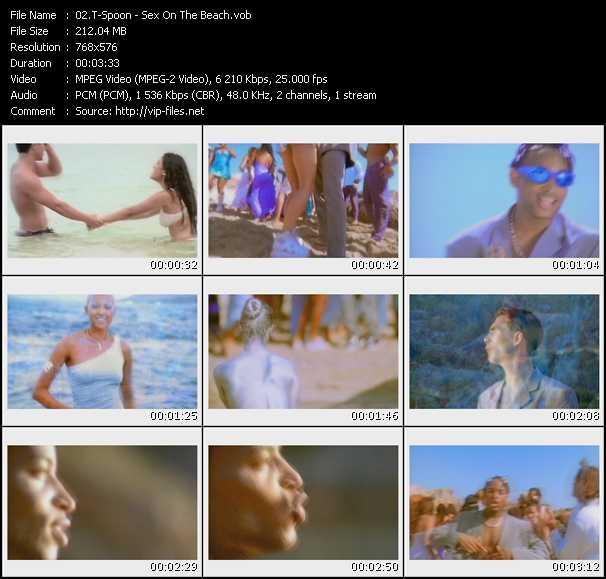 Артист/ Группа: T-Spoon Название Клипа: Sex On The Beach DVD: Promo Only UK