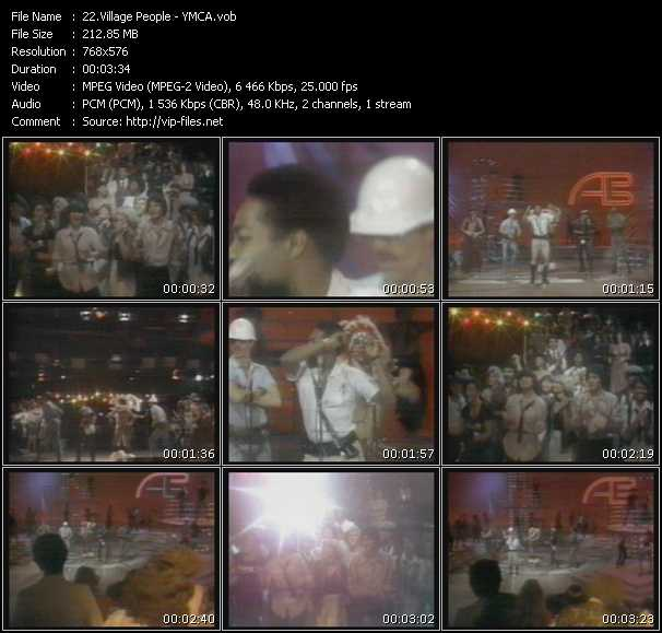 ymca village people. Village Peoplevideoclip YMCA