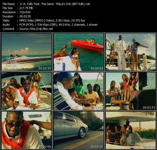 R Kelly Ft The Game Download