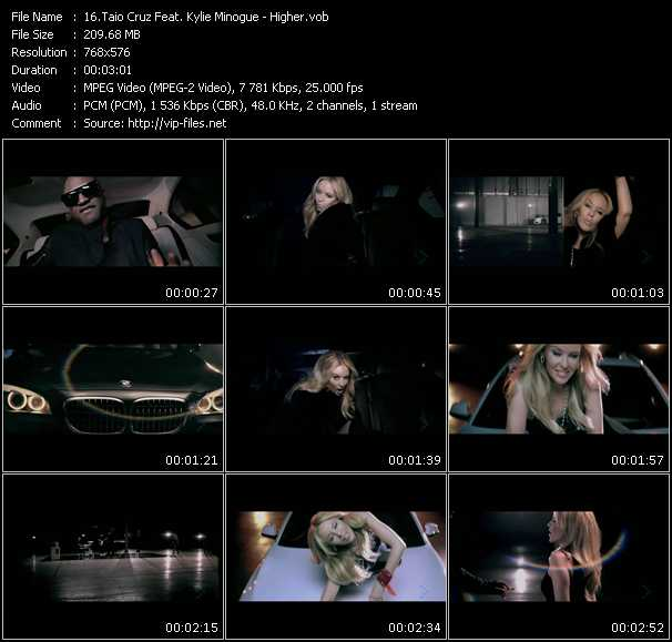 higher taio cruz and kylie minogue. Taio Cruz Feat. Kylie