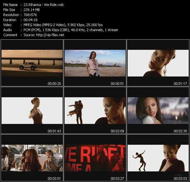 Ride музыкальное видео - википедия