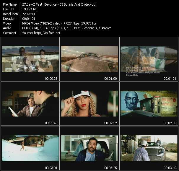 Download Jay Z Feat Beyonce 03 Bonnie And Clyde Vob Video